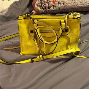 Yellow Rebecca Minkoff crossbody